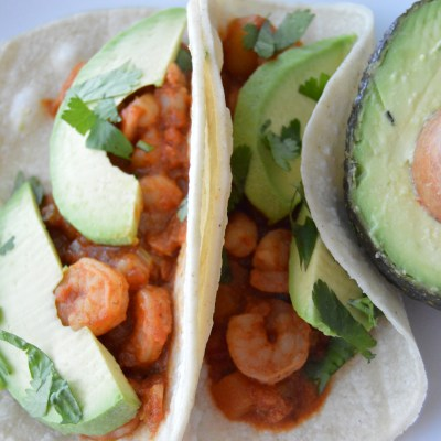Ginger Mango Shrimp Tacos
