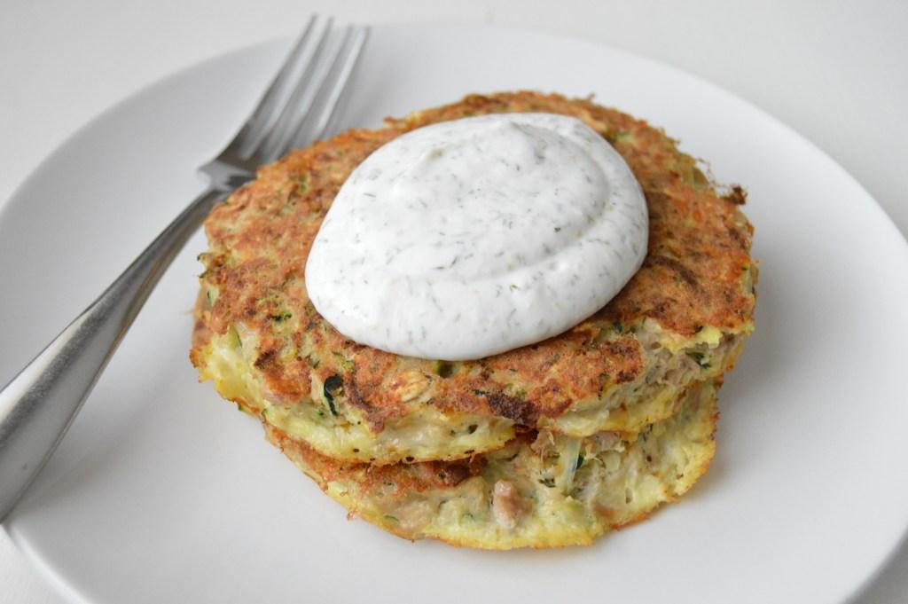 Zucchini Tuna Cakes