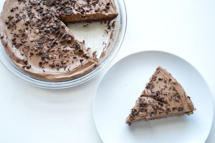 Chocolate Coconut Cream Pie (Dairy and Gluten Free)