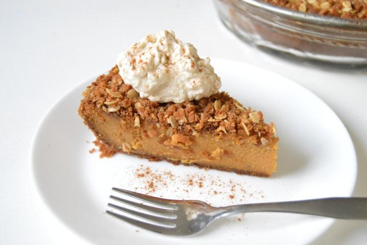 Biscoff Cookie Pumpkin Pie