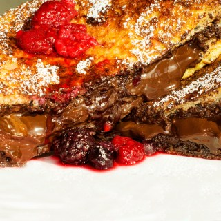 Nutella, dark chocolate, french toast, nutella dark chocolate french toast, chocolate, breakfast, brunch, dessert, recipe, foodporn, delicious, yummy, nutella chocolate