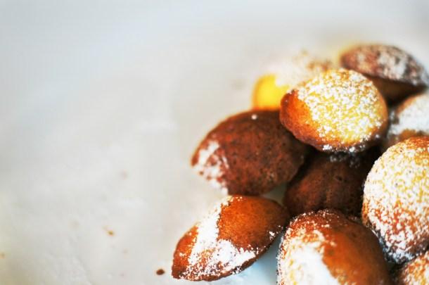 Madeleines recipe lemon poppy seed madelines