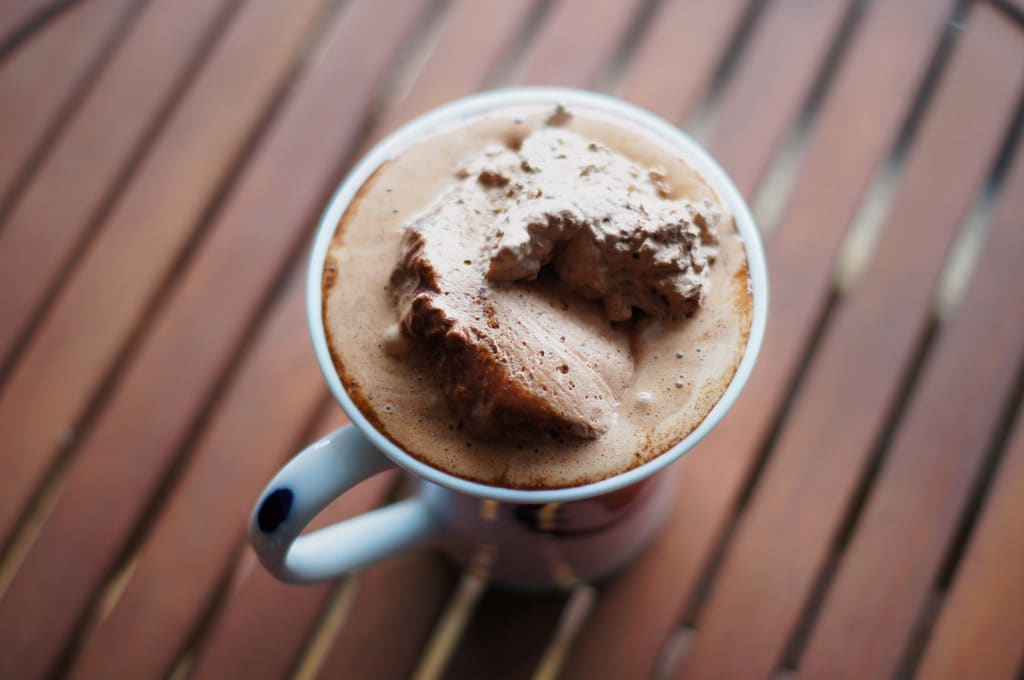 Ultimate hot chocolate tasty drink recipe whipped cream