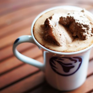 Ultimate Hot Chocolate drink recipe whipped cream cocoa salt