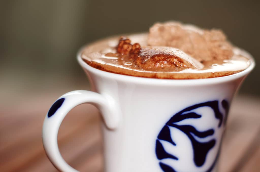 ultimate hot chocolate delicious winter drink whipped cream cocoa