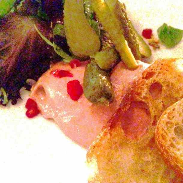 Chicken Liver Mousse, La Societe, food, toronto, winterlicious