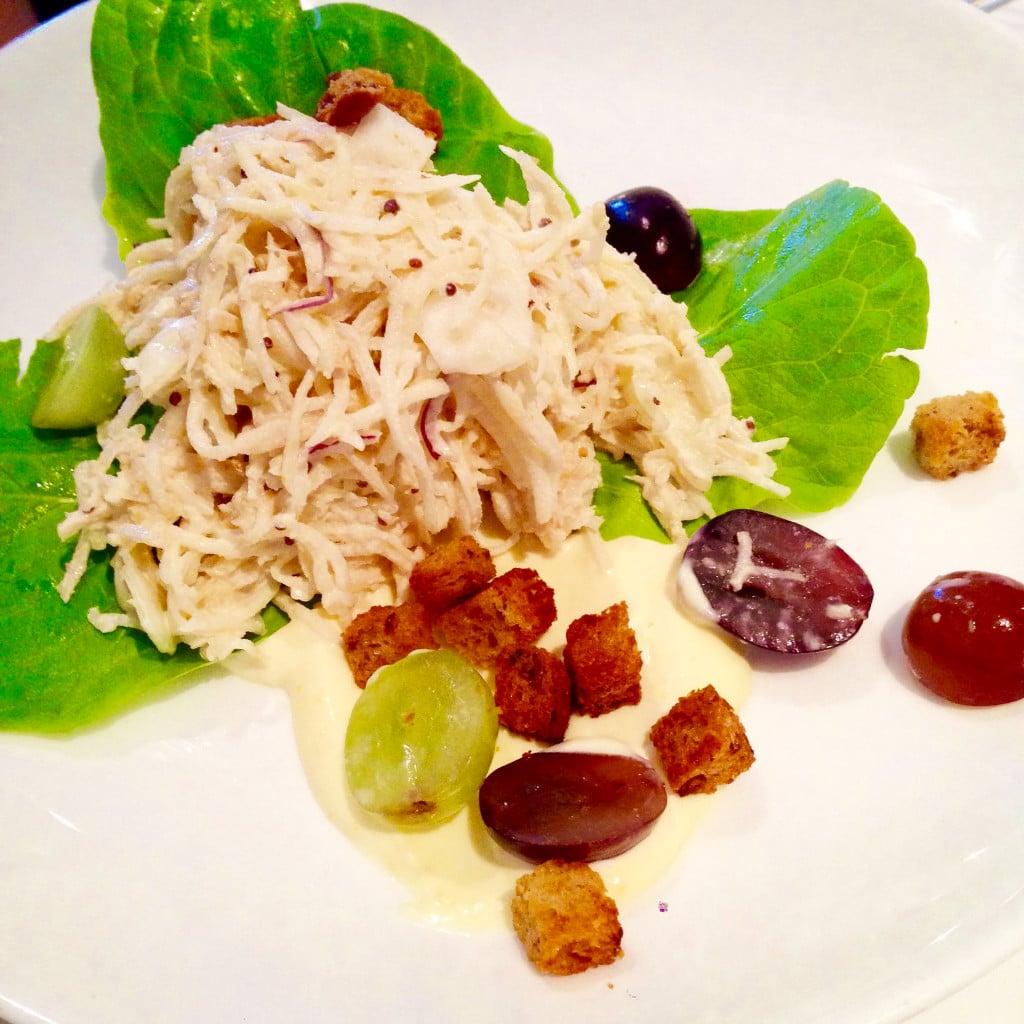 Remoulade Salad, auberge du pommire, winterlicious, toronto, canada, restaurant, restaurant review, oliver bonacini, salad, remoulade