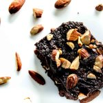 Chocolate Frosted Almond Brownies, Chocolate Frosted Brownies, Almond Brownies, Chocolate Almond Brownies, Brownie recipe, best brownie recipe, Real Layers, Chocolates & Chai, Chocolates and Chai, Almond brownie recipe, best almond brownie recipe, best chocolate frosting recipe