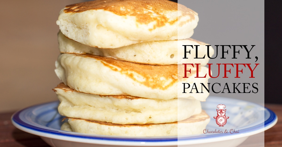 Fluffy fluffy pancakes chocolates chai ccuart Image collections