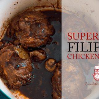 Super Easy Filipino Chicken Adobo