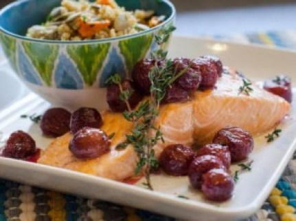 mon-with-thyme-roasted-grapes Katie Cavuto