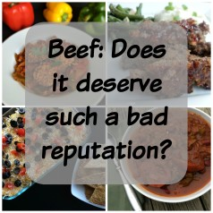 Beef: Does it deserve such a bad reputation?