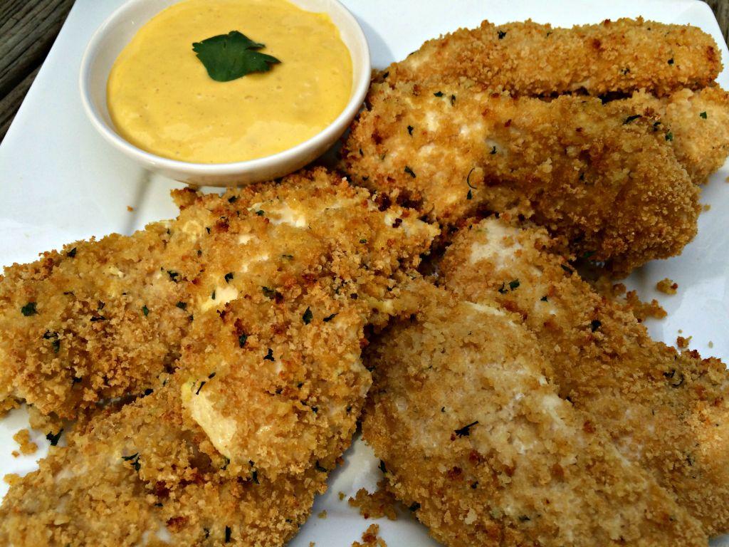 baked honey mustard chicken tenders 2