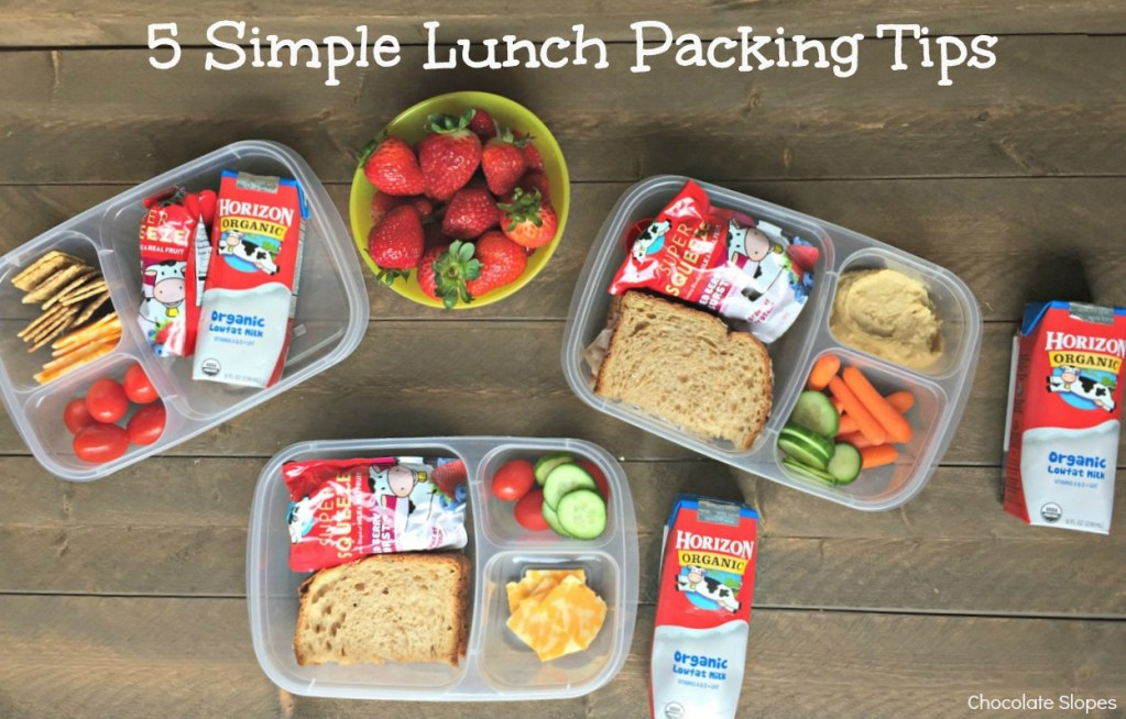 5 Simple Lunch Packing Tips