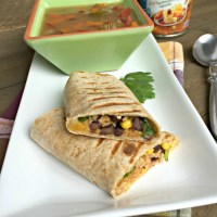 Southwest Veggie Wraps