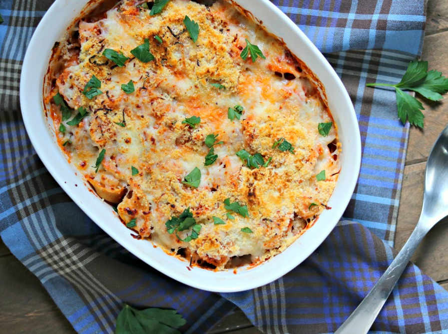 30 Minute Spinach Tortellini Bake {& a $80 Giveaway!}