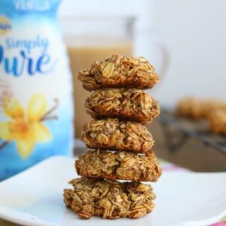 simple vanilla almond breakfast cookies