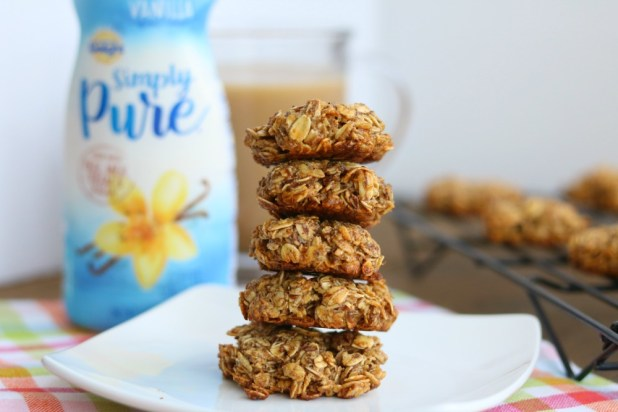 simple vanilla almond breakfast cookies