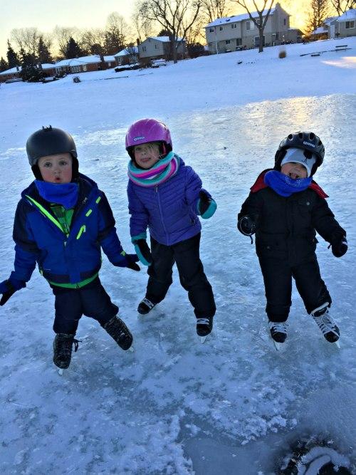 ice skating Jan 2018