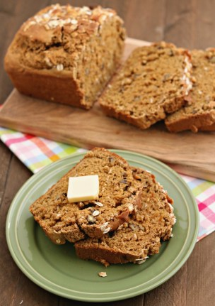 easy oatmeal beer bread