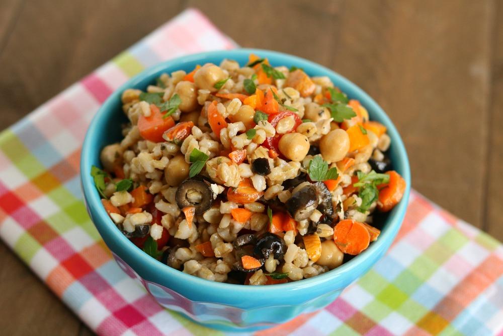 Barley Bean & Vegetable Salad