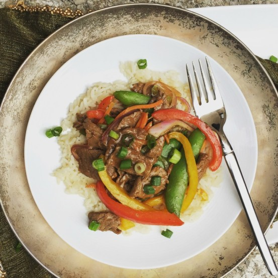 sirloin steak stir fry
