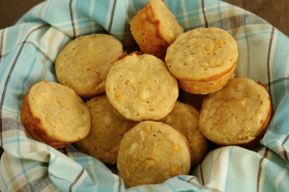 Cornbread Muffins with Cream Style Corn