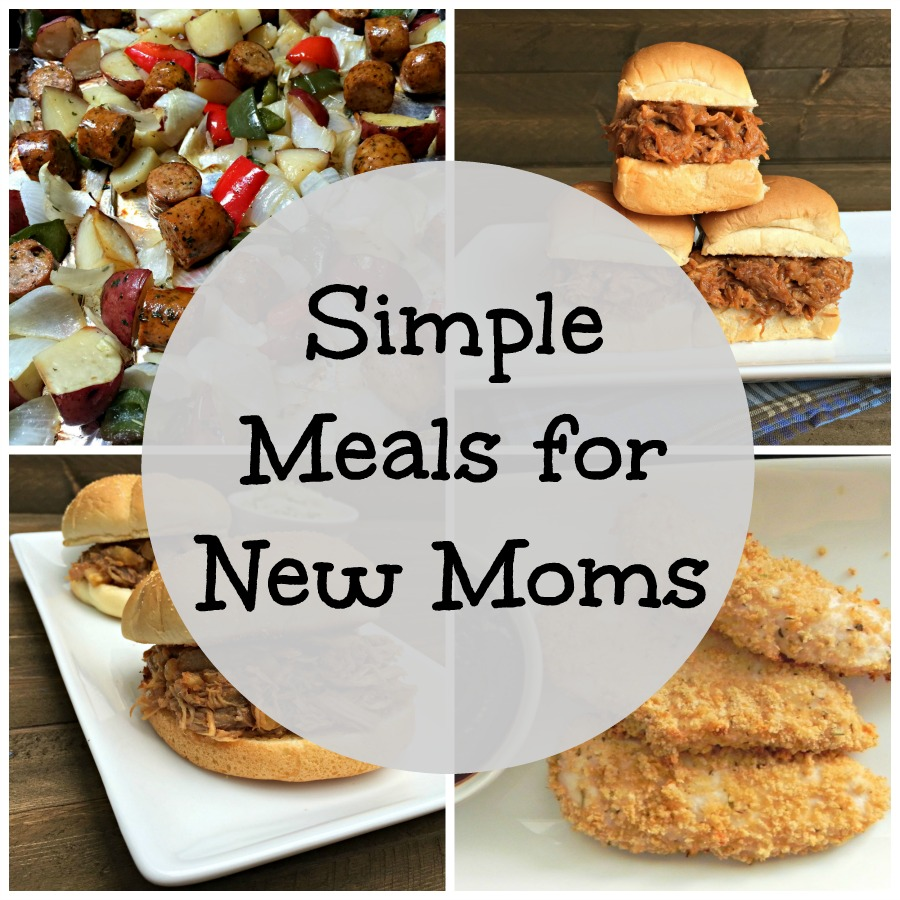 Simple Meals for New Moms