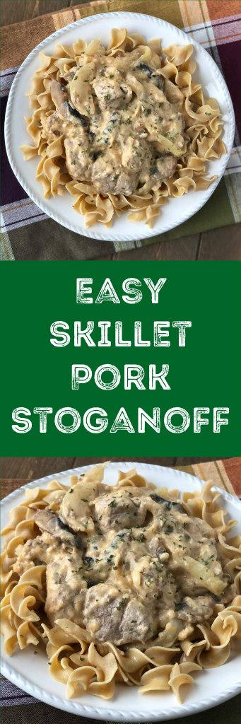 easy pork stoganoff