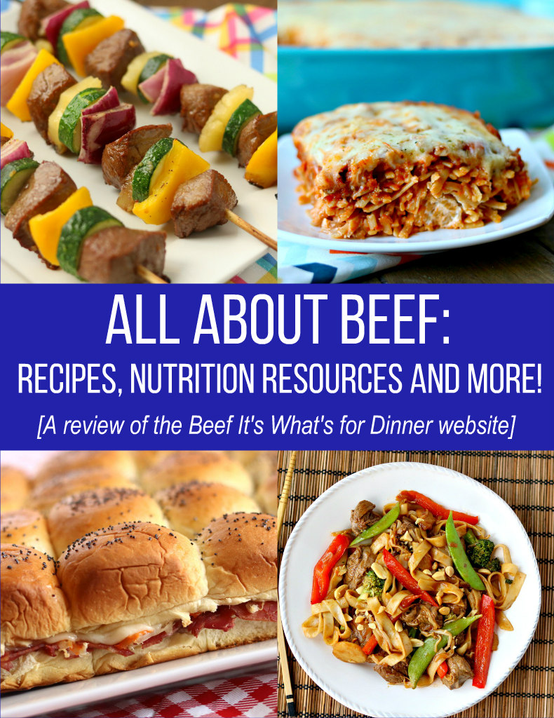 All About Beef – Recipes, Nutrition Resources and More!