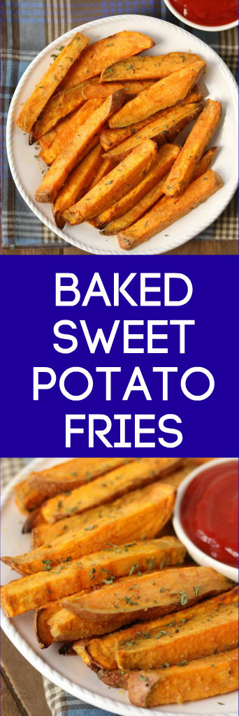 easy baked sweet potato fries