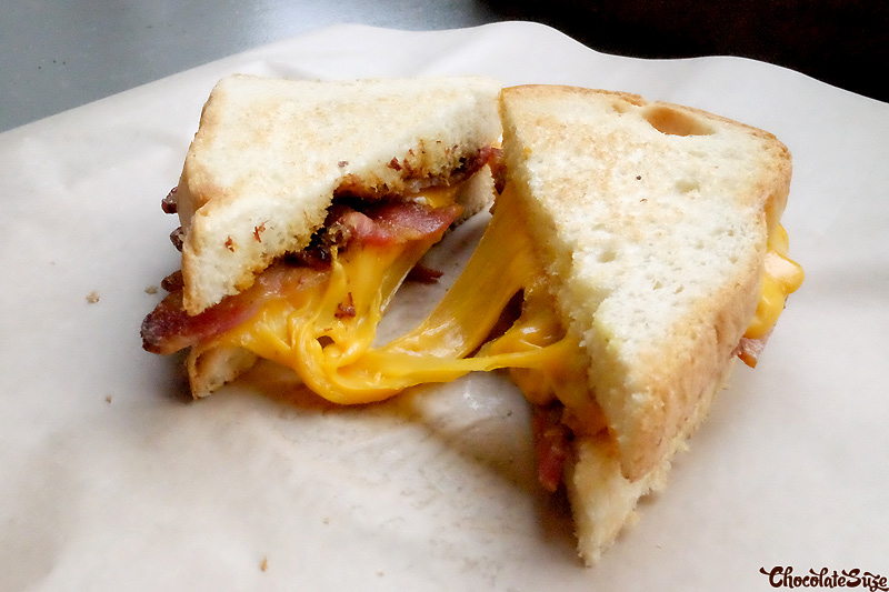 Grilled cheese from Bacon Bacon, San Fransciso