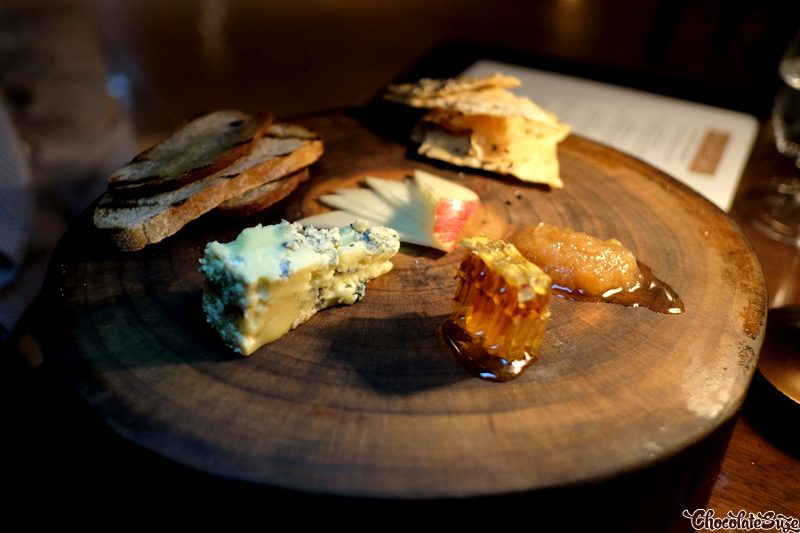 Tarwin Blue Gippsland cheese at Muse Dining, Pokolbin