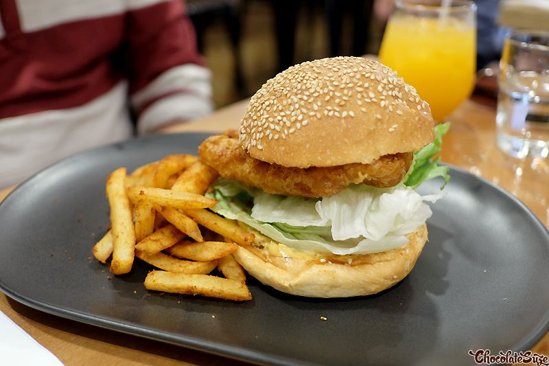 Fish Burger at Ms Murray, Sydney