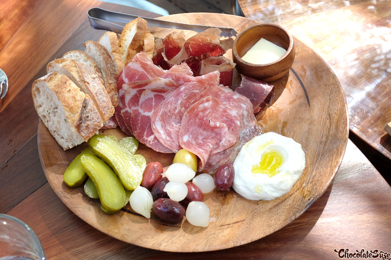 Charcuterie at Hunter & Barrel, Sydney