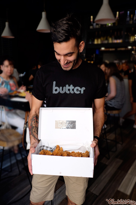 Julian Cincotta at Butter, Surry Hills