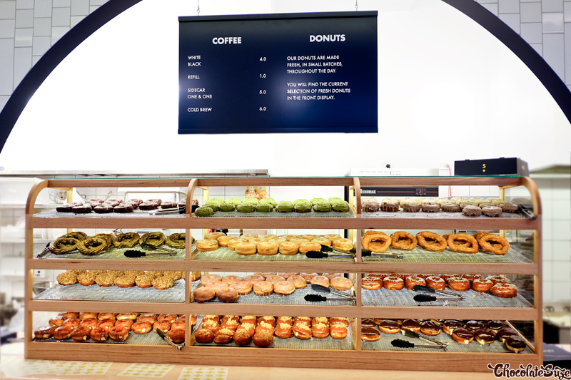 Shortstop Coffee and Donuts, Barangaroo, Sydney