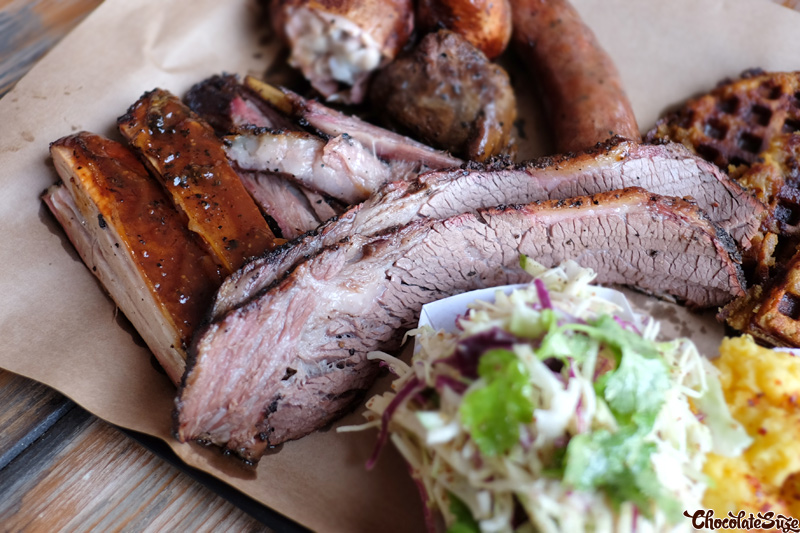 Rangers Valley Black Onyx Brisket at Bluebonnet Barbecue, North Fitzroy