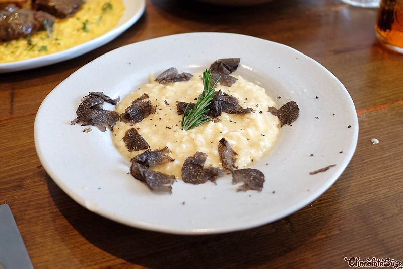 Risotto al Tartufo at Mantecato, Balmain