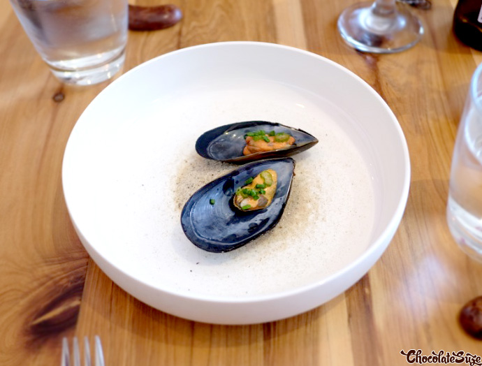 Pickled Mussel at Moxhe, Bronte