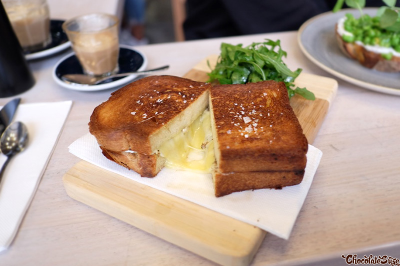 Cheese Toastie at Welcome Dose Specialty Coffee, Rosebery