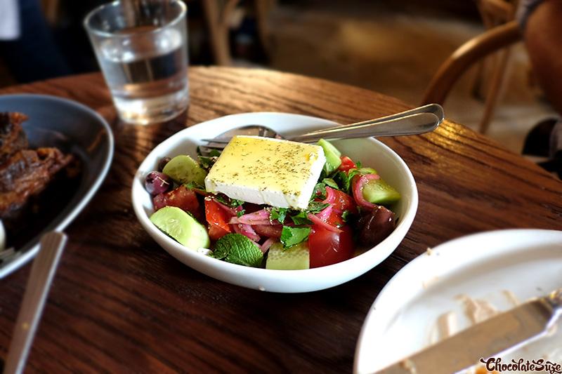Village Salad at The Apollo, Potts Point