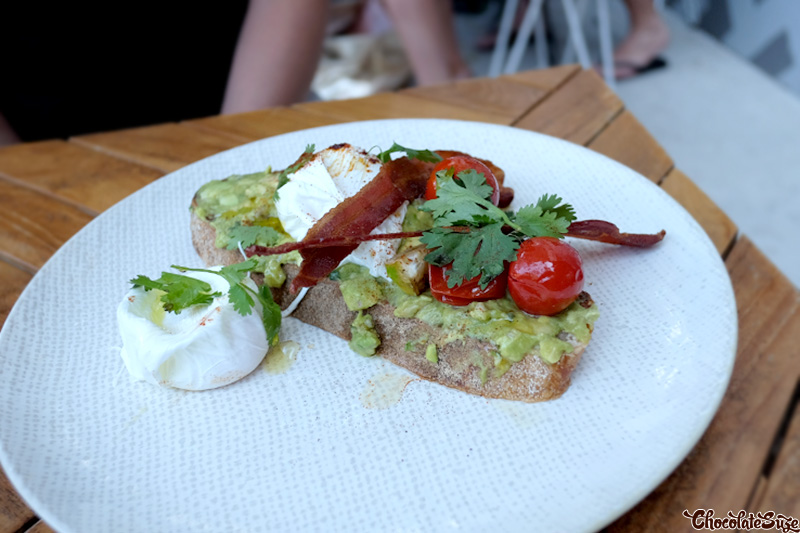 Mexican Smashed Avo at Mentmore & Morley, Rosebery