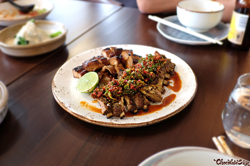 Lamb at Yan Restaurant, Wolli Creek