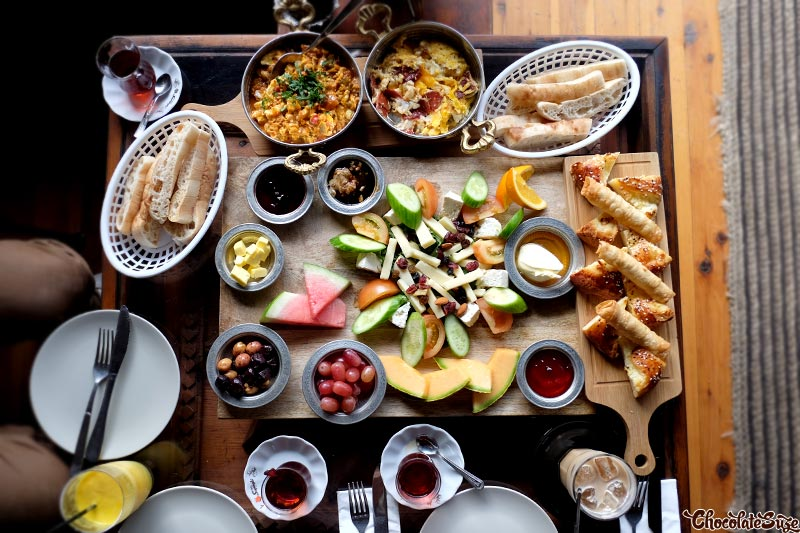 Banquet Turkish Breakfast for two at Ferah Cafe and Restaurant, Newtown
