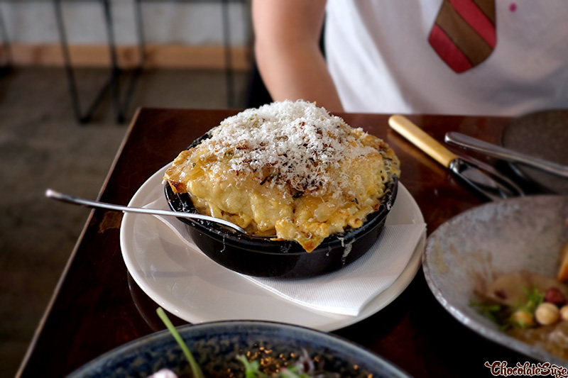 'French Onion' Mac 'n' Cheese at The Stinking Bishops, Newtown