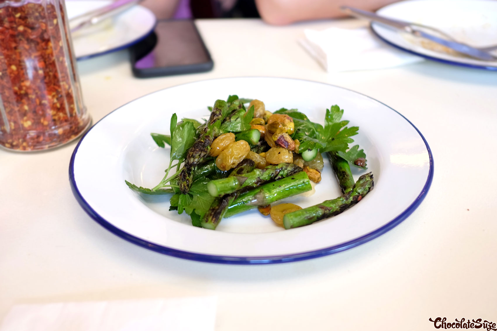 Asparagus at Mr Liquor's Dirty Italian Disco by Pinbone at The Tennyson Hotel, Mascot