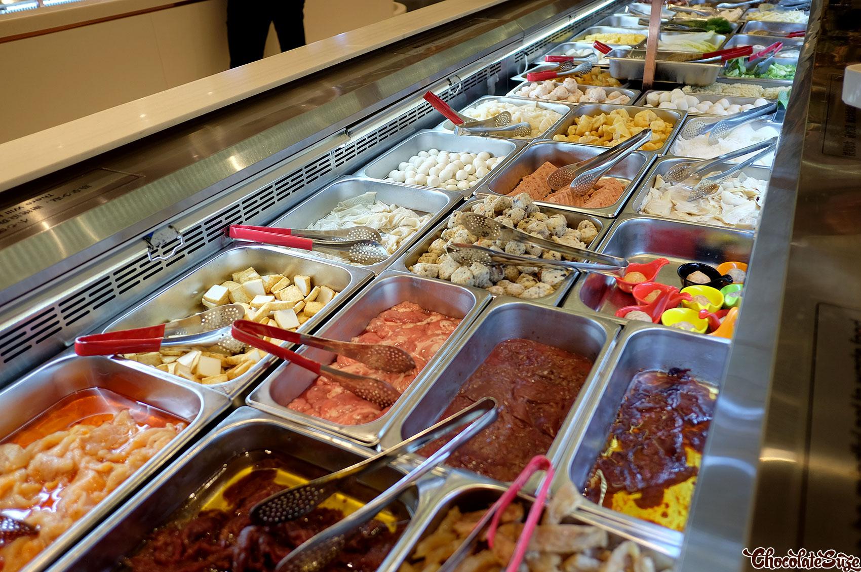 Offal station, Legend Hot Pot buffet, Burwood