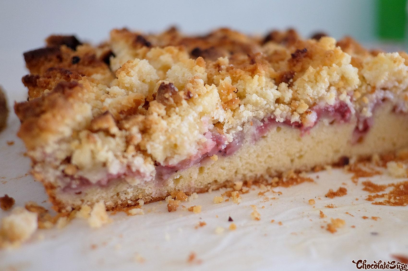 Strawberry Crumb Bar Recipe