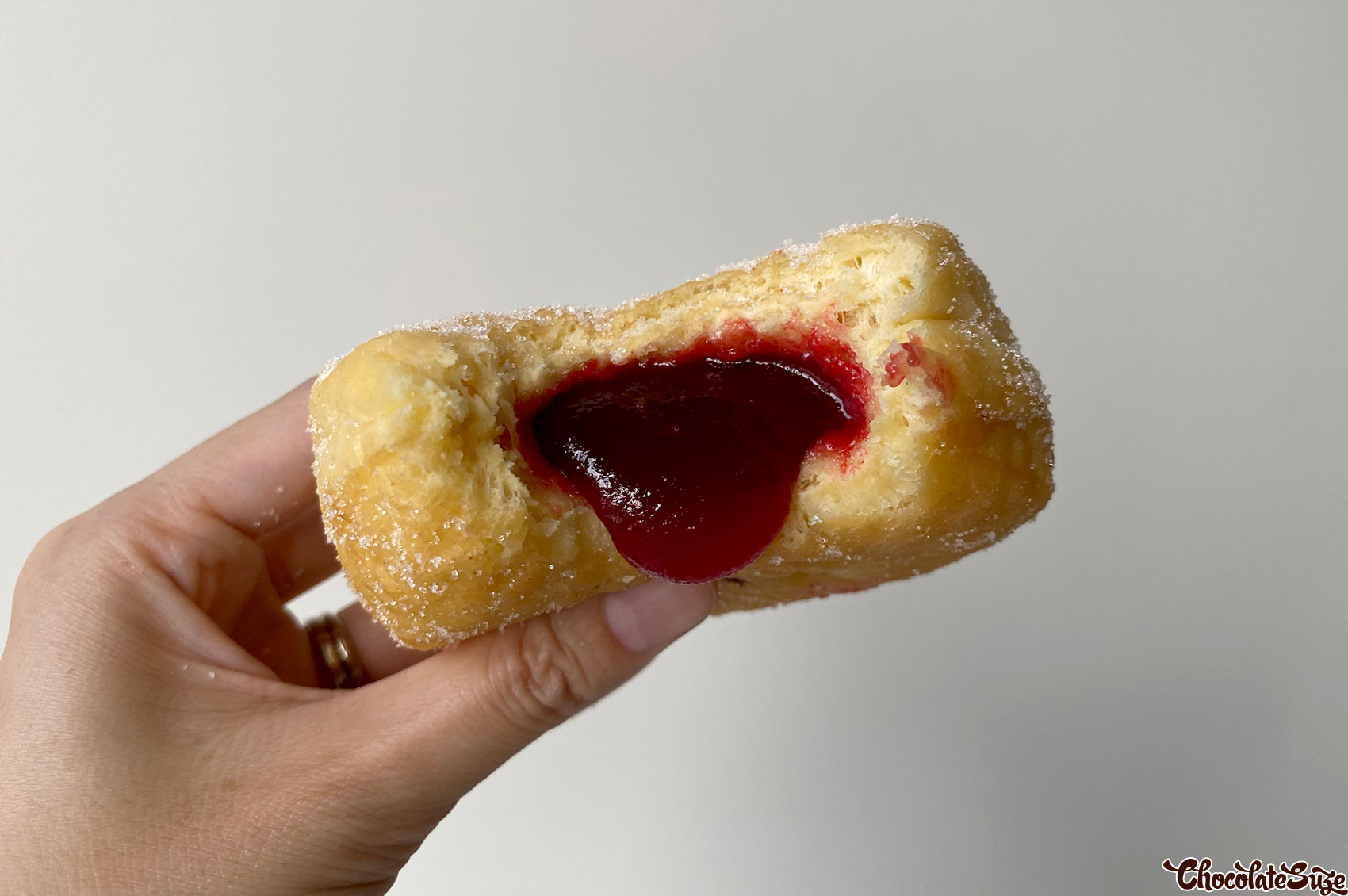 Jam donut at L.A Donuts, Beverly Hills